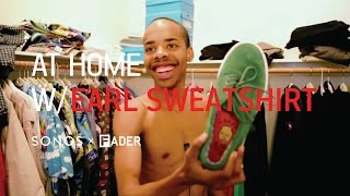 Earl Sweatshirt - At Home With - FADER TV
