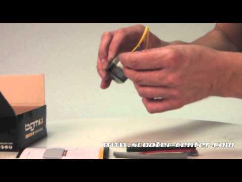 Spannungsregler - BGM6690 4-Pin BGM PRO 12V AC/DC- Vespa Lambretta