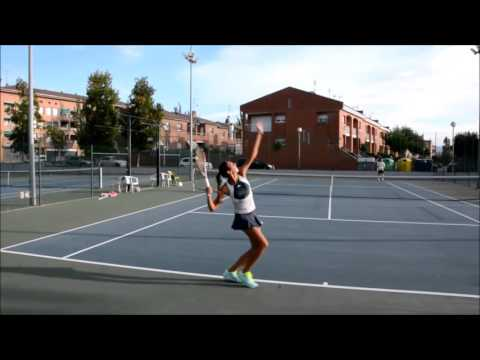 College Tennis Recruitment - Alba Cortina   Fall 2016