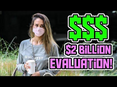 Jessica Alba On Cloud 9 As IPO Values Company At Nearly $2 Billion