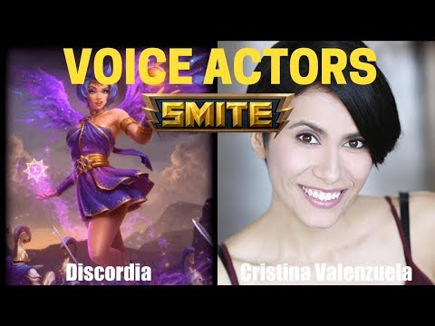 All Characters and Voice Actors - Smite | God Voicelines