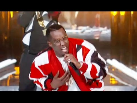Diddy Falls On Stage – BET Awards 2015 Best Moments