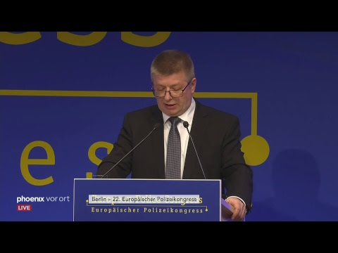 22. Europäischer Polizeikongress am 20.02.2019 u.a. mit Reden von Holger Münch & Thomas Haldenwang