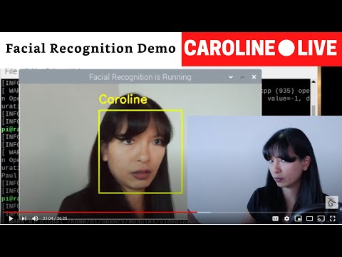 CarolineLIVE: Raspberry Pi and Alexa Projects: Episode 29 - Facial Recognition Demo