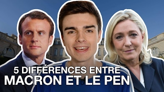 Video 5 DIFFÉRENCES ENTRE EMMANUEL MACRON ET MARINE LE PEN MP3, 3GP, MP4, WEBM, AVI, FLV Agustus 2017
