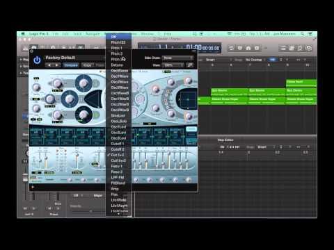 Logic Pro X Tutorial #1: White Noise Sweeps