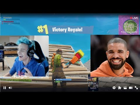 Ninja and Drake play Fortnite on Twitch: a monumental moment in gaming history