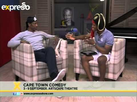 Making mad tv with Orlando Jones (07.09.2012)