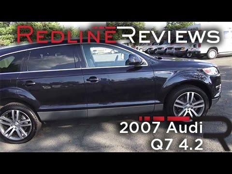 2007 Audi Q7 4.2 Review, Walkaround, Exhaust, Test Drive