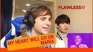 Video Maria MY HEART WILL GO ON Reaction (Indonesian Idol Spekta Show Finals) MP3, 3GP, MP4, WEBM, AVI, FLV Desember 2018