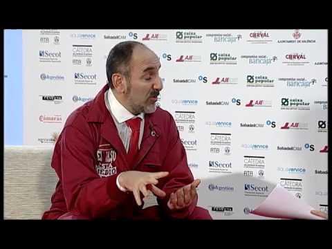 Fernando Sánchez Salinero en el Día de la Persona Emprendedora de la Comunitat Valenciana 2012