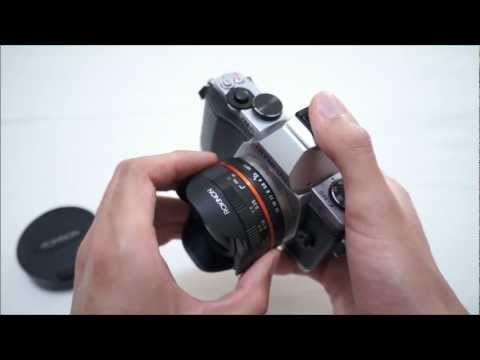 Rokinon Samyang Bower 7.5mm Fisheye Micro 43 Lens Review (on Olympus OM-D EM-5)