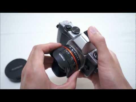 Rokinon Samyang Bower 7.5mm Fisheye Micro 43 Lens Review (on Olympus OM-D EM-5)