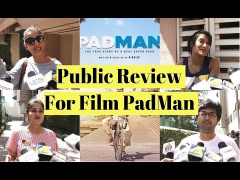 PadMan | Public Review | Akshay Kumar | Sonam Kapoor | Radhika Apte