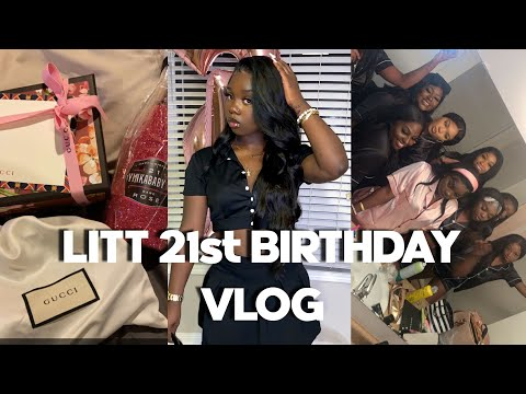 LITTT 21st BIRTHDAY VLOG FT ALL MY FRIENDS ❤️
