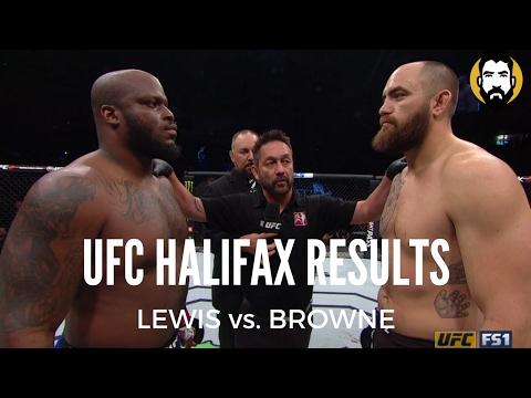 UFC Halifax Results: Derrick Lewis vs. Travis Browne, Johny Hendricks vs. Hector Lombard (видео)