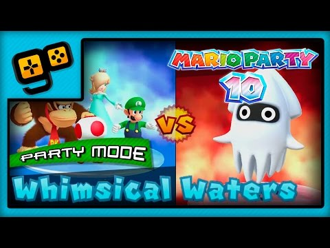 Mario Party 10 - Party Mode - Whimsical Waters
