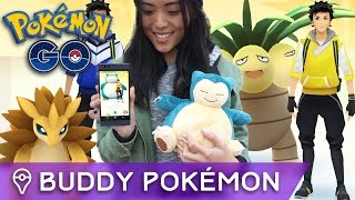 BUDDY POKÉMON: A NEW WAY TO EARN CANDY IN POKÉMON GO by Trainer Tips