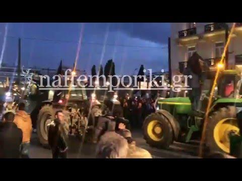 Στο Σύνταγμα φτάνουν οι αγρότες