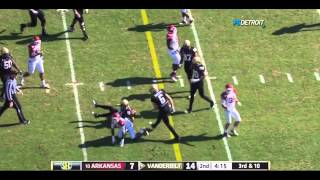 Jerry Franklin vs Vanderbilt 2011