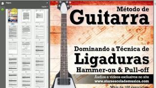 Conhecendo o Método de Guitarra: Dominando a Técnica de Ligaduras