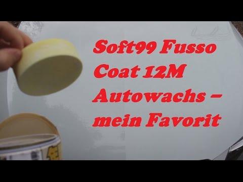 Soft99 Fusso Coat 12M Autowachs - mein Favorit