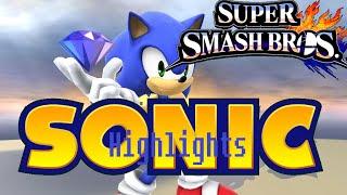 Blue streak, speeds by… Sonic Highlight video