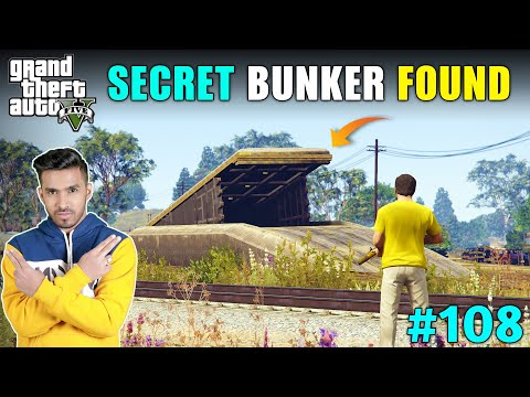 MAFIA'S SECRET BUNKER FOUND | GTA V GAMEPLAY #108