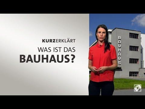Was ist das Bauhaus? - 100 Jahre Bauhaus