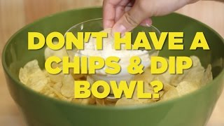 How To Make A Chip 'N Dip Bowl, Like A Boss | Foodbeast Labs