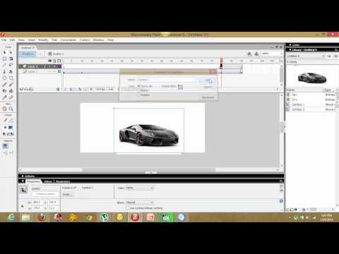 how to create a fade in and out image with macromedia flash 8