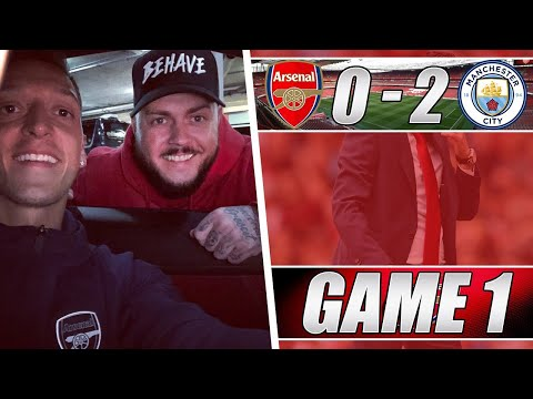 Arsenal 0 Vs 2 Man City - We Have To Keep Our Heads Up - Matchday Vlog