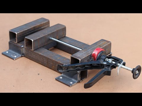 Cool idea! Make a strong Vise for your WorkShop!