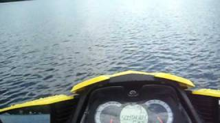 6. 2009 Sea Doo RXT 255 IS  0 - 66.49 mph in seconds!!!