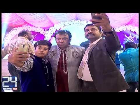 فیصل آباد:گلوکار امانت علی کی شادی میں قوانین کی کھلی خلاف ورزی