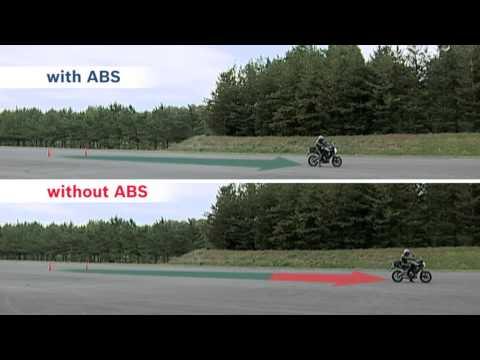 Bosch ABS'li ve ABS'siz Motosiklet Karşılaştırması