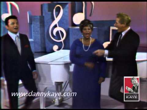 Danny Kaye, Ella Fitzgerald, and Buddy Greco 1966