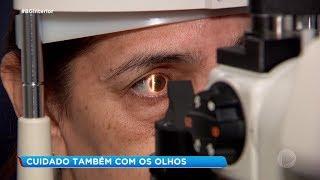 Bauru: oftalmologista alerta sobre cuidados com olhos