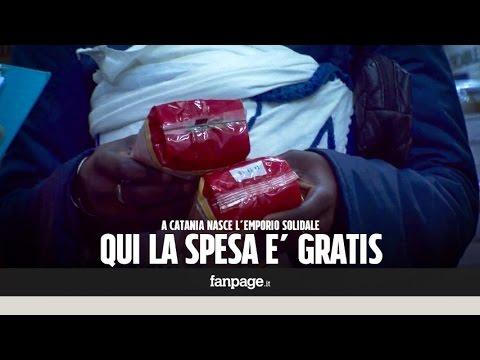 catania: nasce il supermercato dove la spesa è gratis!