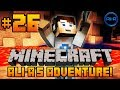 "Minecraft - Ali-A's Adventure #26! - ""TWO CAVES IN ONE!?"""