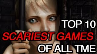 Top 10 Scariest Games of All Time | Leo Countdown