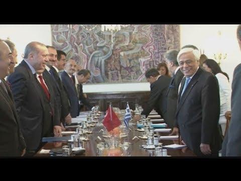 Στο τραπέζι Παυλόπουλου – Ερντογάν η συνθήκη της Λωζάννης