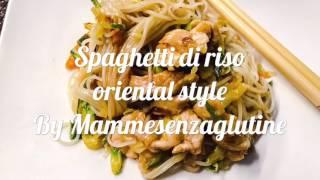 Spaghetti di riso oriental style