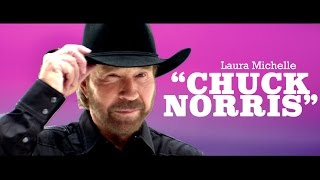 Laura Michelle Chuck Norris pop music videos 2016