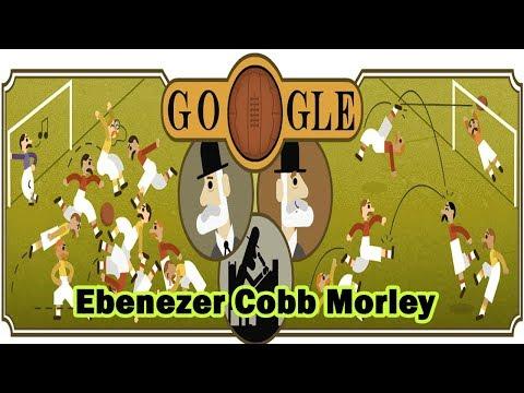 Ebenezer Cobb Morley - Father of the Football Association Google Doodle