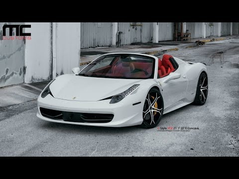 MC Customs Ferrari 458 Italia Spider