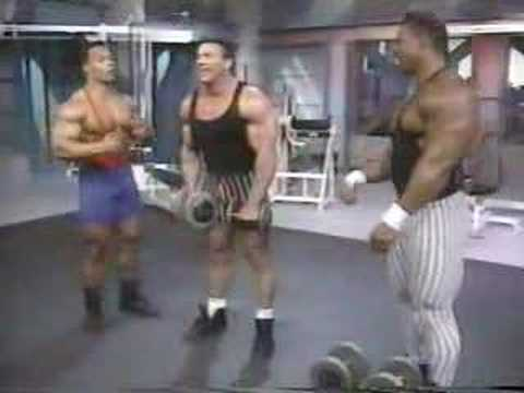 levrone - Flex Magazine Workout Kevin Levrone Shoulders.