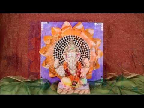 Ganesha backdrop decoration