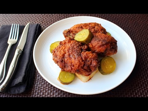 Nashville Hot Chicken - How to Make Crispy Nashville-Style Fried Chicken (видео)