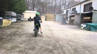 8. KX 85 Riding HD